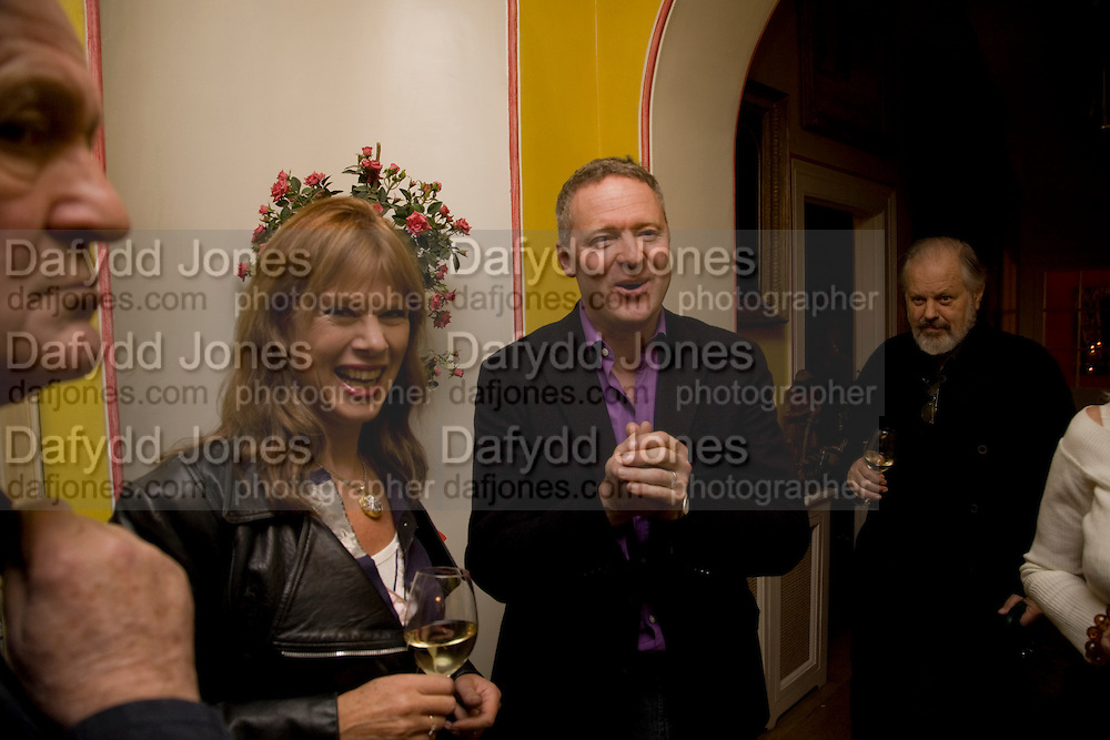 NETTIE MASON; RORY BREMNER, Book launch for American's in Paris by Charles Glass hosted by Lady Annabel Lindsay. Holland Park. London. 25 March 2009 *** Local Caption *** -DO NOT ARCHIVE-&copy; Copyright Photograph by Dafydd Jones. 248 Clapham Rd. London SW9 0PZ. Tel 0207 820 0771. www.dafjones.com.<br /> NETTIE MASON; RORY BREMNER, Book launch for American's in Paris by Charles Glass hosted by Lady Annabel Lindsay. Holland Park. London. 25 March 2009