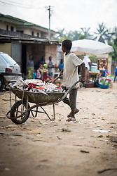 4 December 2017, Abidjan, Côte d'Ivoire: Attoban area, near Dora Ville, in Abidjan, Côte d'Ivoire.