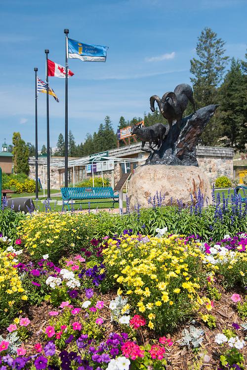 Canada, British Columbia,Rockies, Rocky Mountains Radium Hot Springs, Tourist Info,