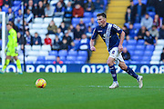 Birmingham City's Stephen Gleeson on the ball during the Sky Bet Championship match between Birmingham City and Wolverhampton Wanderers at St Andrews, Birmingham, England on 31 October 2015. Photo by Shane Healey.