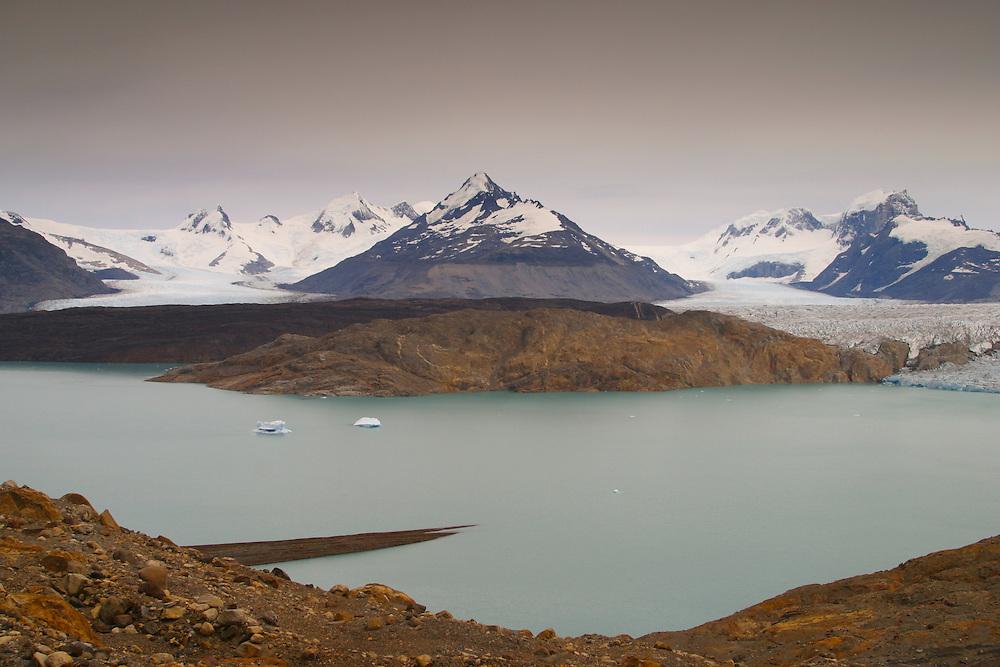 The Upsala Glacier in Argentina's Los Glacieares National Park, Jan. 18, 2004. Daniel Beltra/Greenpeace