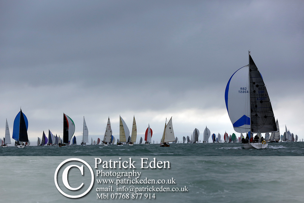 2017, July 1, Round the island Race, Round the Island Race, UK, Isle of Wight, Cowes, FLEET, GBR 4365T, ENIGMA,