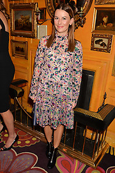 JULIET ANGUS at the launch of GP Nutrition held at Annabel's, 44 Berkeley Square, London on 26th January 2016.
