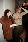 JESSICA DRAPER; JOE SYKES, Party hosted for Jason Wu by Plum Sykes and Christine Al-Bader. Ladbroke Grove. London. 22 March 2011. -DO NOT ARCHIVE-© Copyright Photograph by Dafydd Jones. 248 Clapham Rd. London SW9 0PZ. Tel 0207 820 0771. www.dafjones.com.