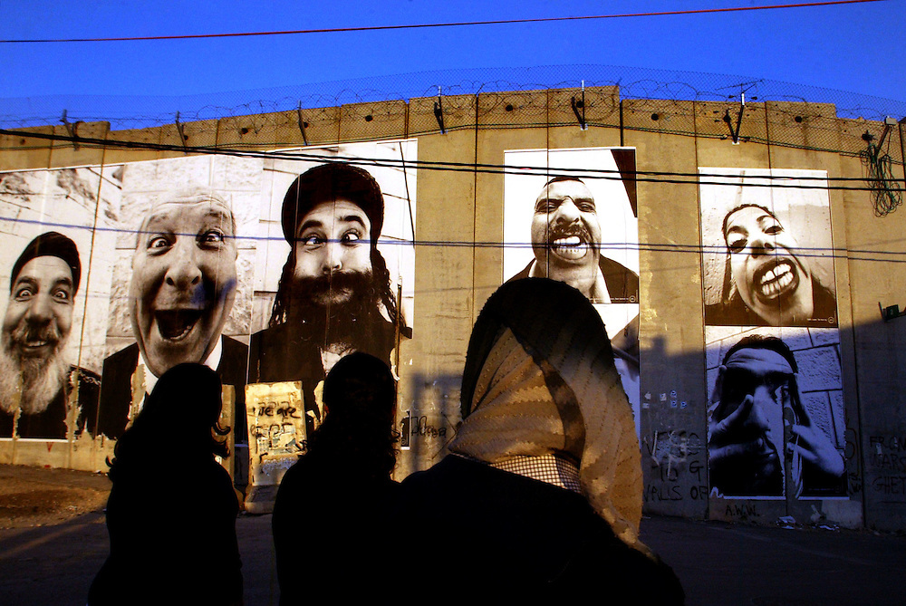 Abu dis photographie separation wall