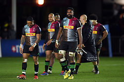 Tevita Cavubati of Harlequins looks on after the match - Mandatory byline: Patrick Khachfe/JMP - 07966 386802 - 01/12/2019 - RUGBY UNION - The Twickenham Stoop - London, England - Harlequins v Gloucester Rugby - Gallagher Premiership