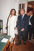Valerie Gut; Fawaz Gruosi, DINNER TO CELEBRATE THE ARTISTS OF FRIEZE PROJECTS AND THE EMDASH AWARD 2012 hosted by ANDREA DIBELIUS founder EMDASH FOUNDATION, AMANDA SHARP and MATTHEW SLOTOVER founders FRIEZE. THE FORMER CENTRAL ST MARTIN'S SCHOOL OF ART AND DESIGN, SOUTHAMPTON ROW, LONDON WC1. 11 October 2012