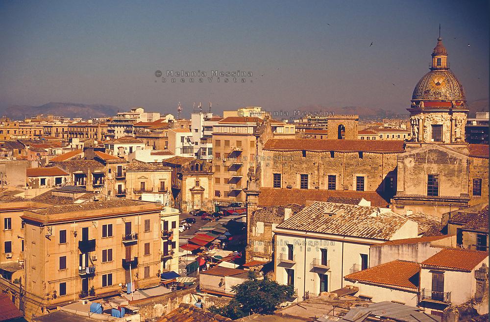 Palermo, historic city center, Ballaro' district..Palermo. centro storico, quartiere Ballarò e Albergheria.Palermo, centro storico.