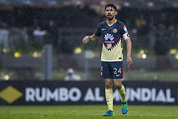 April 9, 2018 - Mexico City, MEXICO CITY, Mexico - Oribe Peralta of Club America during 2018 CONCACAF Champions League Semifinals, Leg 2 match between Club America and Toronto FC at Azteca Stadium in Mexico City, Mexico on 10 April, 2018. (Credit Image: © Ernesto Perez/NurPhoto via ZUMA Press)