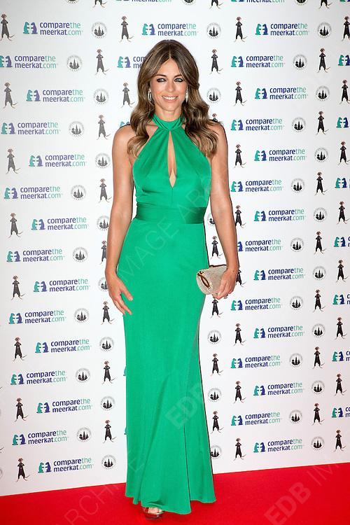21.AUGUST.2013. LONDON<br /> <br /> ELIZABETH HURLEY ATTENDS THE COMPARETHEMEERKAT.COM SPY THEMED LAUNCH EVENT FOR SECRET AGENT MAIYA HELD AT TROXY IN EAST LONDON<br /> <br /> BYLINE: EDBIMAGEARCHIVE.CO.UK<br /> <br /> *THIS IMAGE IS STRICTLY FOR UK NEWSPAPERS AND MAGAZINES ONLY*<br /> *FOR WORLD WIDE SALES AND WEB USE PLEASE CONTACT EDBIMAGEARCHIVE - 0208 954 5968*