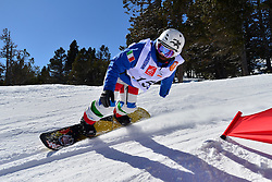 Europa Cup Finals Banked Slalom, POZZERLE Manuele, ITA at the 2016 IPC Snowboard Europa Cup Finals and World Cup