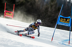 LYSDAHL Kristin of Norway competes during the Ladies' GiantSlalom at 56th Golden Fox event at Audi FIS Ski World Cup 2019/20, on February 15, 2020 in Podkoren, Kranjska Gora, Slovenia. Photo by Matic Ritonja / Sportida