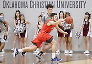 February 16, 2017: The Rogers State University Hillcats play against the Oklahoma Christian University Eagles in the Eagles Nest on the campus of Oklahoma Christian University.