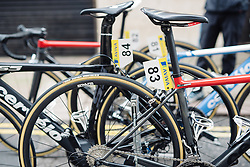 Cervélo Bigla down to four riders as they look to defend Ashleigh Moolman Pasio's position in the GC at Aviva Women's Tour 2016 - Stage 4. A 119.2 km road race from Nottingham to Stoke-on-Trent, UK on June 18th 2016.