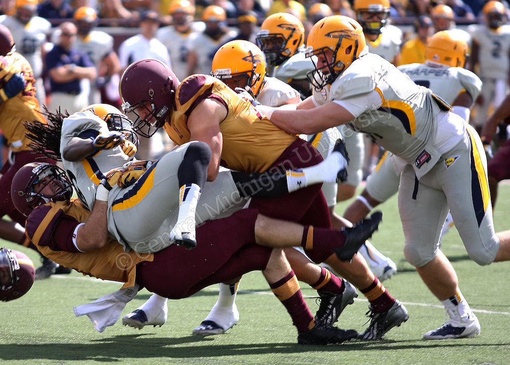 CMU football plays Toledo, September 21, 2013.