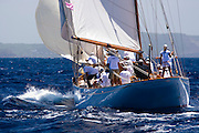 Belle Venture at the Antigua Classic Yacht Regatta