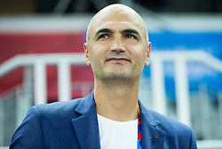 Petar Naumoski of Macedonia during basketball match between Slovenia and Georgia at Day 2 in Group C of FIBA Europe Eurobasket 2015, on September 6, 2015, in Arena Zagreb, Croatia. Photo by Vid Ponikvar / Sportida