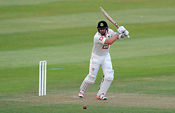 Sussex's Chris Nash drives the ball. - Photo mandatory by-line: Harry Trump/JMP - Mobile: 07966 386802 - 05/07/15 - SPORT - CRICKET - LVCC - County Championship Division One - Somerset v Sussex- The County Ground, Taunton, England.
