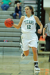 06 December 2017:  Sydney Shanks during an NCAA women's basketball game between the Wheaton Thunder and the Illinois Wesleyan Titans in Shirk Center, Bloomington IL