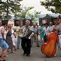 Music and dancing, Kalemegdan Park, Belgrade, Serbia