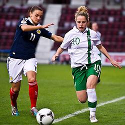 Scotland v Republic of Ireland | UEFA Women's European Championship Qualifier | 05 April 2012