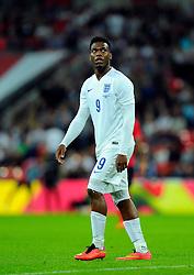 England's Daniel Sturridge (Liverpool) - Photo mandatory by-line: Joe Meredith/JMP - Mobile: 07966 386802 - 3/09/14 - SPORT - FOOTBALL - London - Wembley Stadium - England v Norway - International Friendly
