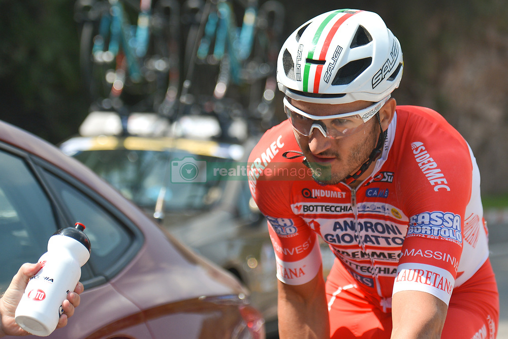 September 12, 2017 - Yunzhu, China - Italian rider Marco Benfatto from Androni-Sidermec-Bottecchia team during the second stage Jinzhong A to B race of the 2017 Tour of China 1, the 197km from Dazhai to Yunzhu. .On Tuesday, 12 September 2017, in Yunzhu, Xiyang County, Shanxi Province, China. (Credit Image: © Artur Widak/NurPhoto via ZUMA Press)