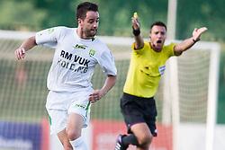 Buzet Rok of Zavrc during football match between NK Triglav Kranj and Zavrc 3rd Round of Prva Liga, on 28 July, 2013, in Sportni center Kranj, Slovenia. (Photo by Grega Valancic / Sportida)