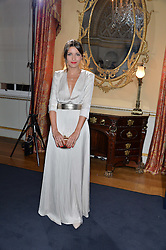 ALEXANDRA PEREIRA at an evenig of Jewellery & Photography to launch the Buccellati 'Opera Collection' held at Spencer House, London on 21st October 2015.