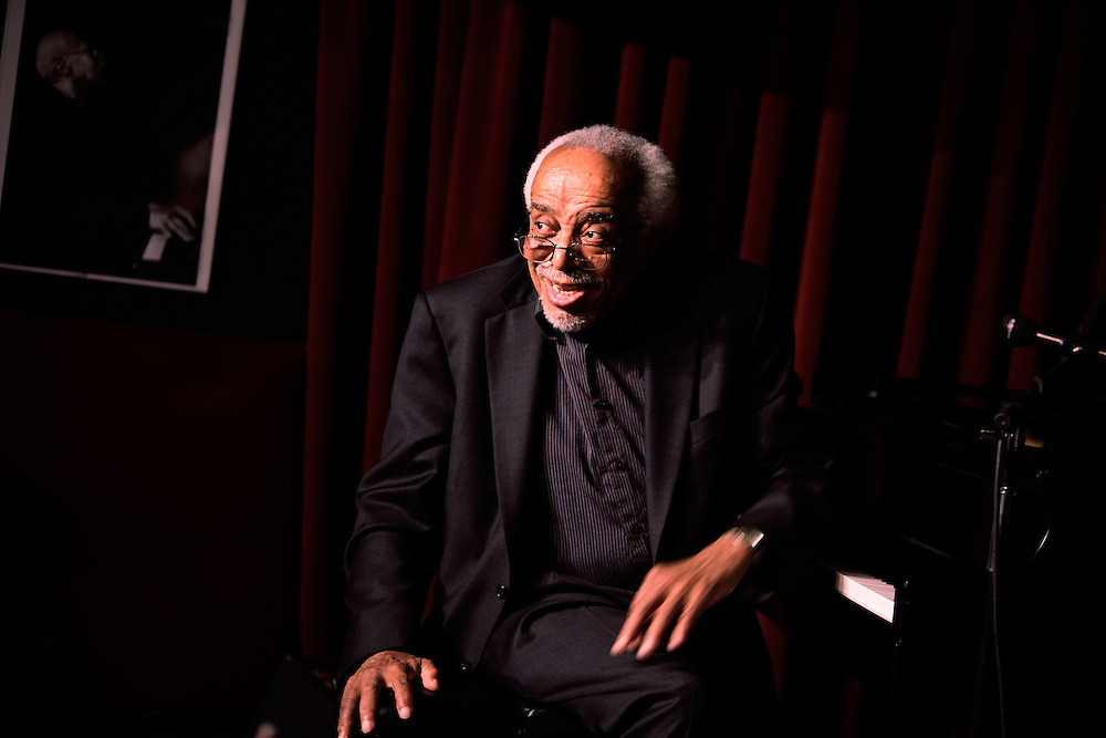 Musician Barry Harris of of the Barry Harris Trio performs at Village Vanguard on April 28, 2009 in New York city. photo by Joe Kohen for The New York Times
