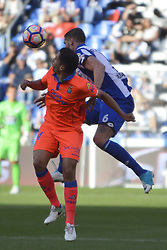 May 20, 2017 - Albentosa and Hernan.  LA CORUNA SPAIN. MAY 20, 2017 - La Liga Santander match day 38 game. Deportivo La Coruna defeated Las Palmas with goals scored by Florin And one (4th and 28th minute) and Carles Gil (39th minute). Riazor Stadium, Spain. Photo by Monica Arcay Carro | PHOTO MEDIA EXPRESS (Credit Image: © Monica Arcay Carro/VW Pics via ZUMA Wire/ZUMAPRESS.com)