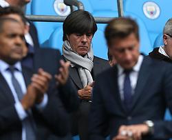 23 September 2017 Manchester : Premier League Football : Manchester City v Crystal Palace:  German coach Joachim Löw.<br /> Photo: Mark Leech