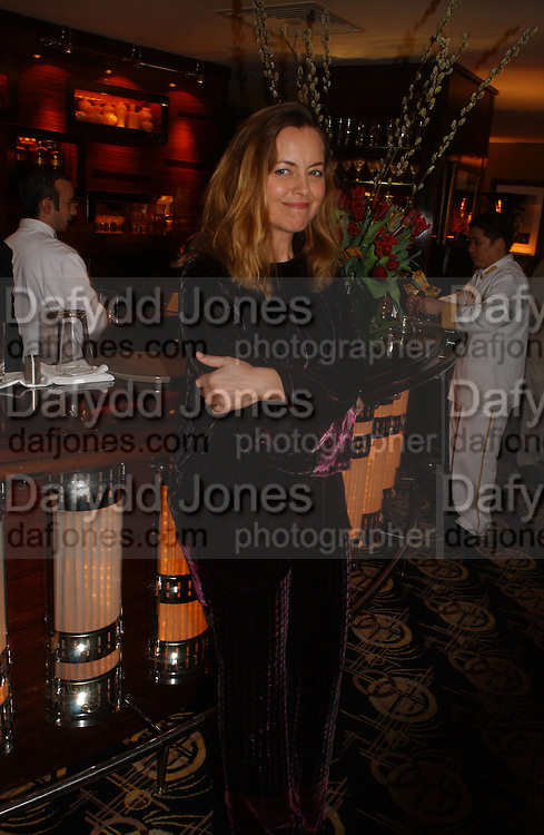 Greta Scaachi. The after show party following the UK Premiere of 'The White Countess', at China Tang, Park Lane London. March 19  2006. London. ONE TIME USE ONLY - DO NOT ARCHIVE  © Copyright Photograph by Dafydd Jones 66 Stockwell Park Rd. London SW9 0DA Tel 020 7733 0108 www.dafjones.com