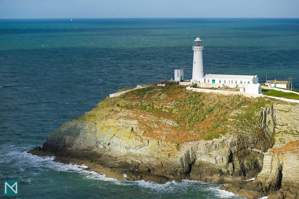 South Stack Lighthouse in Anglesey, north Wales