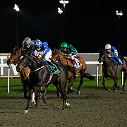 Forever Cinderella and K T O'Neill winning the 4.35 race