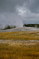Old Faithfull Geyser, Yellowstone National Park