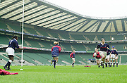 Twickenham, England, RFU Stadium, Surrey. <br /> Photo Peter Spurrier<br /> 10/05/2002<br /> Sport - Rugby - RFU Women's Rugby Team, training  at the RFU Stadium Twickenham.  [Mandatory Credit:Peter SPURRIER/Intersport images]