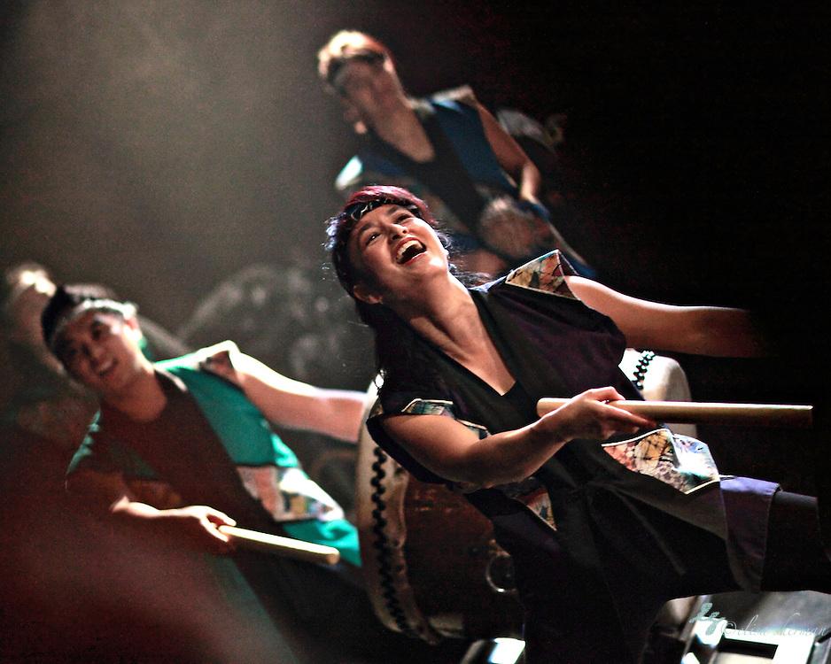 Kokon Taiko Drummers at Noise for the Needy 2011 Kick off Party at Neumos 3-10-2011