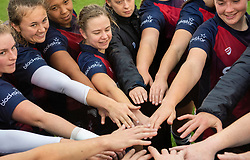 Bristol Bears Women celebrate their win - Mandatory by-line: Paul Knight/JMP - 26/10/2019 - RUGBY - Shaftesbury Park - Bristol, England - Bristol Bears Women v Richmond Women - Tyrrells Premier 15s