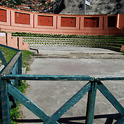 Casa de Campo Guzman Blanco, forma parte del Patrimonio Historico de Caracas, Esta fue una edificación encargada por Antonio Guzmán Blanco como casa de campo a mediados de la década de 1880, en el para entonces el pueblo rural de Antímano. Guzmán Blanco consideraba a Antímano como el lugar con el mejor clima del valle de Caracas. Caracas 24 de agosto del 2008.<br /> Photography by Aaron Sosa<br /> Caracas, Venezuela 2008<br /> (Copyright © Aaron Sosa)