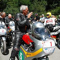 World Champions Jim Redman (1), Dieter Braun (4), Solitude Revival 2011, Germany
