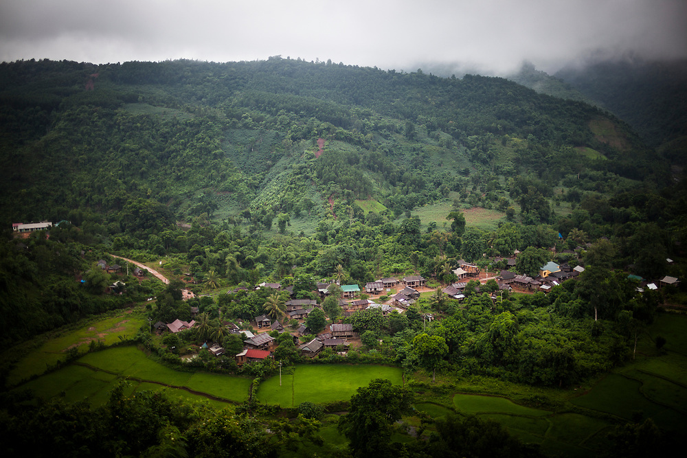 A small village in central Vietnam.