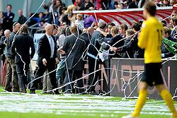 16-05-2010 VOETBAL: FC UTRECHT - RODA JC: UTRECHT<br /> FC Utrecht verslaat Roda in de finale van de Play-offs met 4-1 en gaat Europa in / Vreugde bij Ton du Chatinier <br /> ©2010-WWW.FOTOHOOGENDOORN.NL