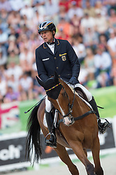 Peter Thomsen, (GER), Horsewares Barny - Jumping Eventing - Alltech FEI World Equestrian Games™ 2014 - Normandy, France.<br /> © Hippo Foto Team - Jon Stroud<br /> 31-08-14