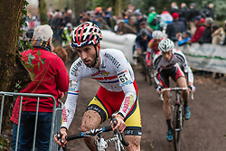 Ian FIeld (GBR), Men Elite, Cyclo-cross World Cup Hoogerheide, The Netherlands, 25 January 2015, Photo by Pim Nijland / PelotonPhotos.com