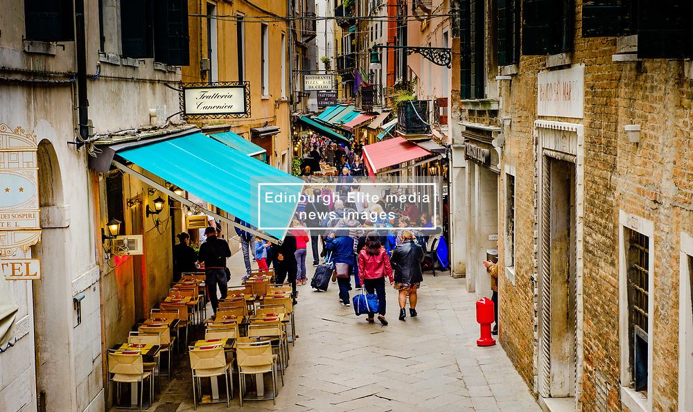 Street scene in Venice, Italy<br /> <br /> (c) Andrew Wilson | Edinburgh Elite media