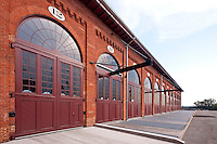 Architectural Detail Image of The B & O Railroad Museum South Car Shop after Renovation