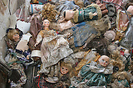 May 21 2007, Destroyed dools found in a home destroyed by Hurricane Katrina in Arabi, LA