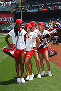 ANAHEIM, CA - MAY 14:  Members of the Los Angeles Angels of Anaheim Strike Force pose for a photo before the game against the Boston Red Sox at Angel Stadium in Anaheim, California on Thursday, May 14, 2009.  The Angels defeated the Red Sox 5-4 in 12 innings.  (Photo by Paul Spinelli/MLB Photos)