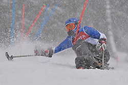 FRANCOIS Frederic LW11 FRA at 2018 World Para Alpine Skiing World Cup slalom, Veysonnaz, Switzerland